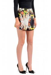 Just Cavalli Women's Floral Print Short Mini Shorts : Picture 2