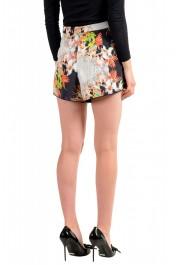 Just Cavalli Women's Floral Print Short Mini Shorts : Picture 3