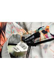 Just Cavalli Women's Floral Print Short Mini Shorts : Picture 4