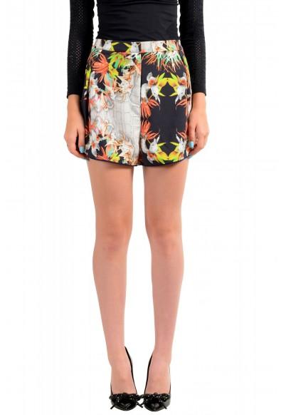 Just Cavalli Women's Floral Print Short Mini Shorts