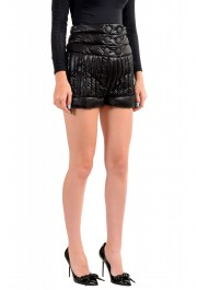 Moncler Women's Black Down insulated Mini Shorts : Picture 2