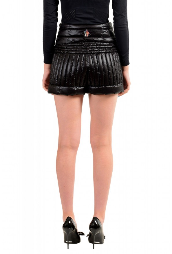 Moncler Women's Black Down insulated Mini Shorts : Picture 3