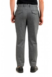 """Hugo Boss Men's """"T-Olan"""" Gray 100% Wool Plaid Pleated Front Pants: Picture 3"""