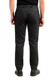 "Hugo Boss Men's ""Garo"" Slim Fit Dark Gray Flat Front Pants: Picture 3"