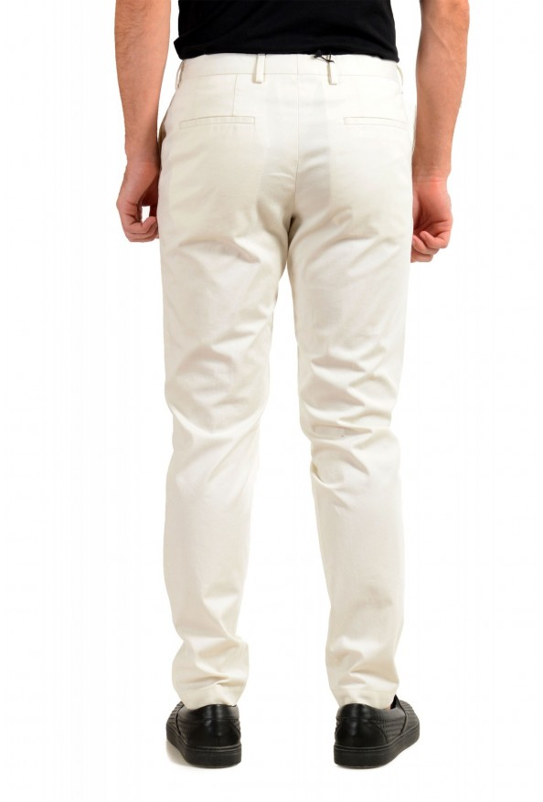 """Hugo Boss Men's """"Broad-W"""" Off White Flat Front Casual Pants: Picture 3"""