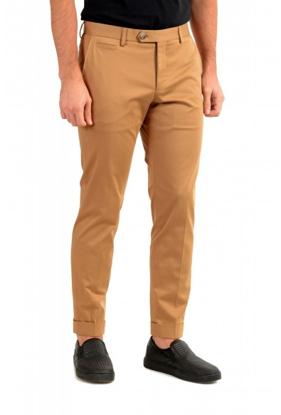 """Hugo Boss Men's """"T-Bryce"""" Tailored Brown Flat Front Casual Pants: Picture 2"""