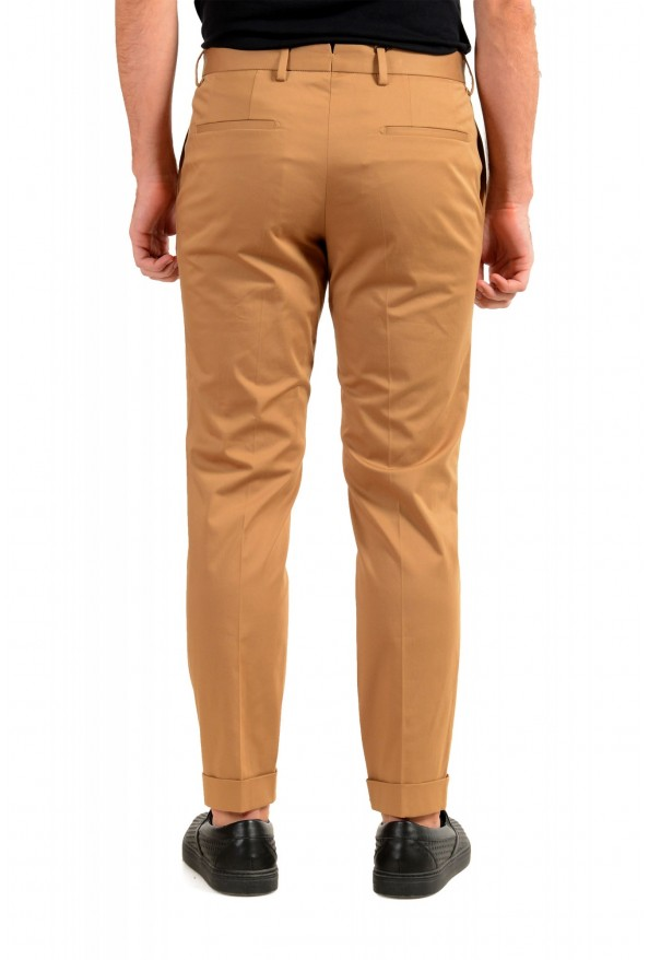 """Hugo Boss Men's """"T-Bryce"""" Tailored Brown Flat Front Casual Pants: Picture 3"""