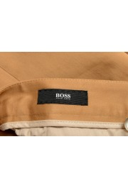 """Hugo Boss Men's """"T-Bryce"""" Tailored Brown Flat Front Casual Pants: Picture 5"""