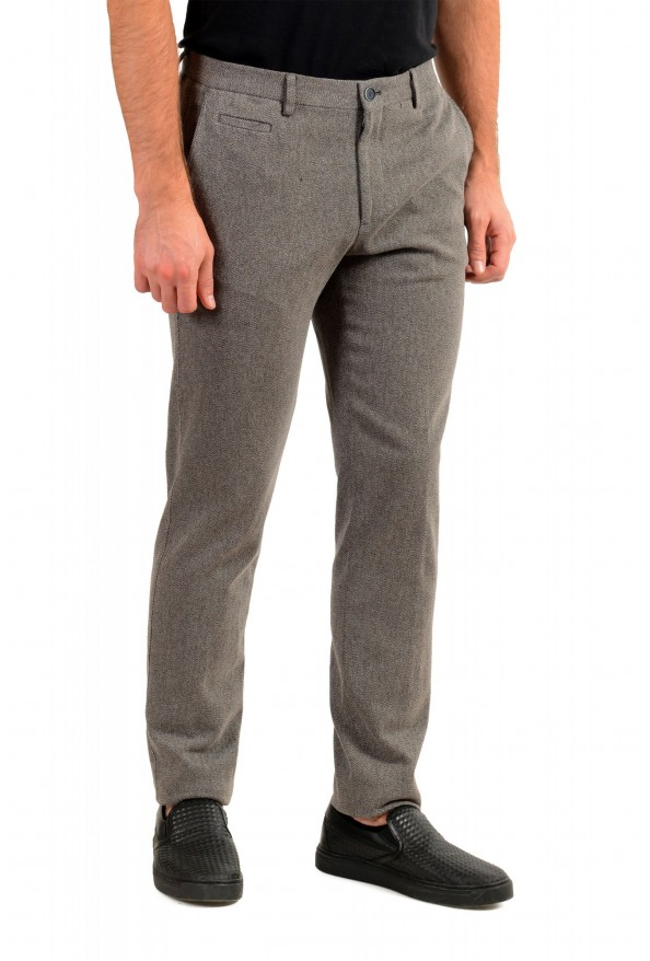 """Hugo Boss Men's """"Broad-W"""" Stone Brown Flat Front Casual Pants: Picture 2"""