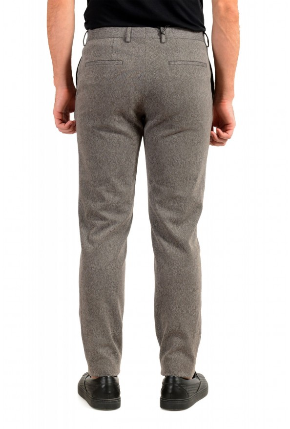 """Hugo Boss Men's """"Broad-W"""" Stone Brown Flat Front Casual Pants: Picture 3"""