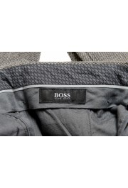 """Hugo Boss Men's """"Broad-W"""" Stone Brown Flat Front Casual Pants: Picture 4"""