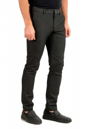 """Hugo Boss Men's """"Kaito1"""" Gray Flat Front Casual Pants: Picture 2"""