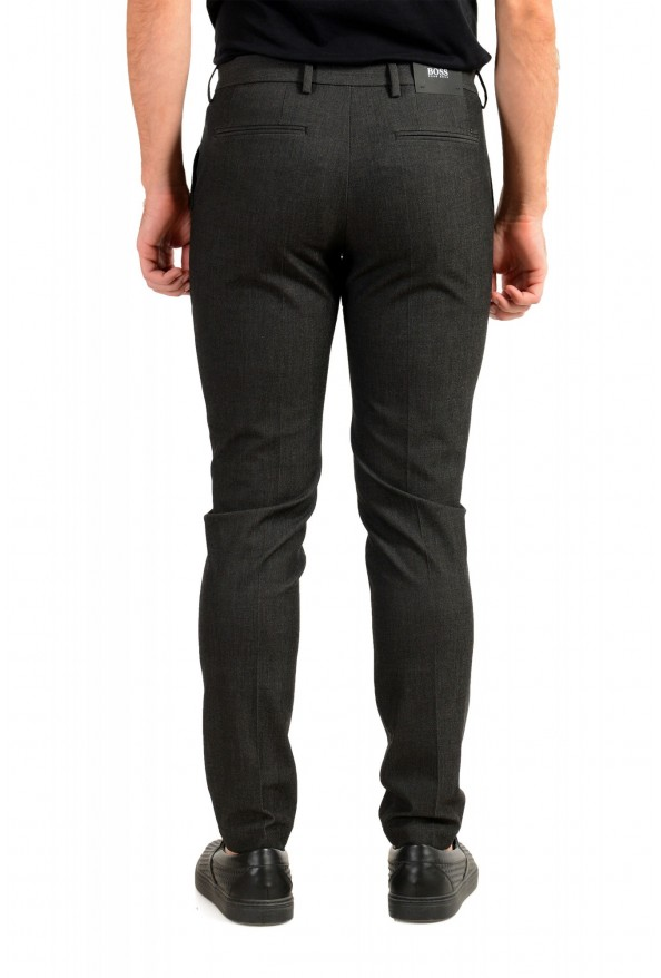 """Hugo Boss Men's """"Kaito1"""" Gray Flat Front Casual Pants: Picture 3"""