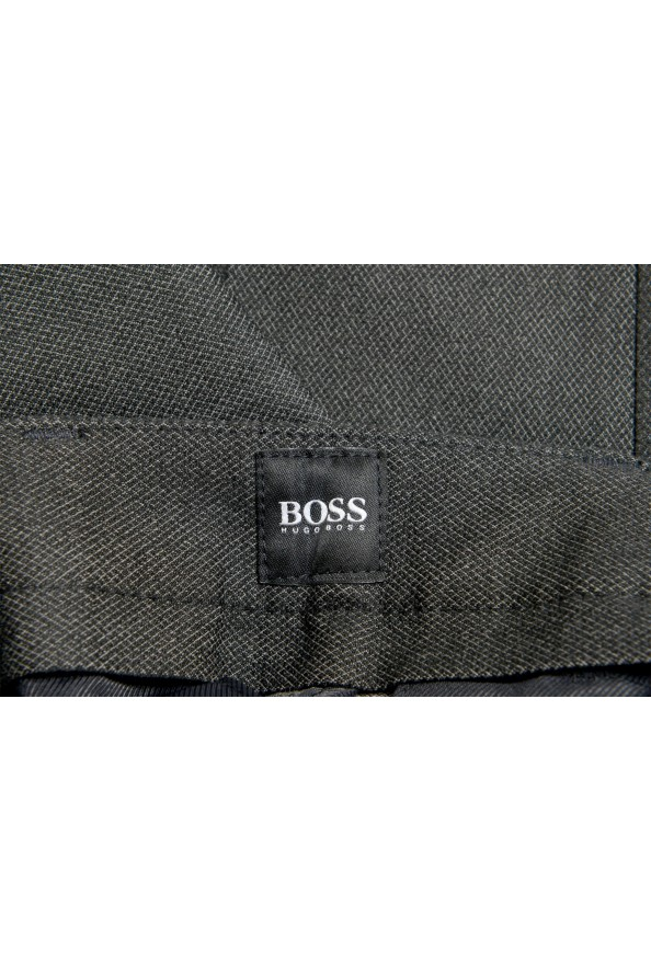 """Hugo Boss Men's """"Kaito1"""" Gray Flat Front Casual Pants: Picture 5"""