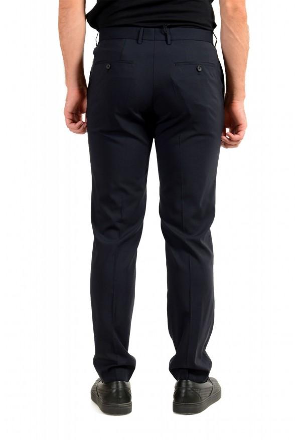 "Hugo Boss Men's ""Ben2"" Slim Fit Blue 100% Wool Dress Pants: Picture 3"