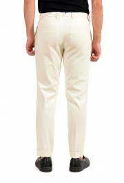 """Hugo Boss Men's """"T-Bryce"""" Tailored Off Whit Flat Front Casual Pants: Picture 3"""