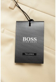 """Hugo Boss Men's """"T-Bryce"""" Tailored Off Whit Flat Front Casual Pants: Picture 4"""