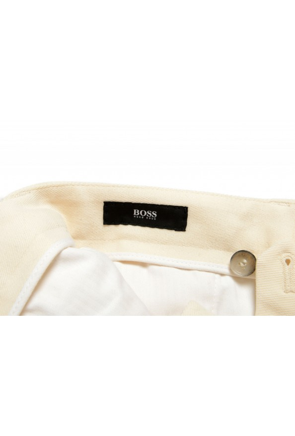 """Hugo Boss Men's """"T-Bryce"""" Tailored Off Whit Flat Front Casual Pants: Picture 5"""
