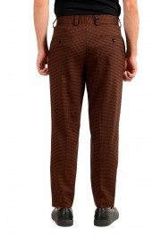 """Hugo Boss Men's """"Perin3"""" Fashion Fit Plaid Wool Flat Front Pants: Picture 3"""