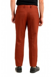 """Hugo Boss Men's """"Frencis"""" Brown Wool Pleated Front Pants: Picture 3"""