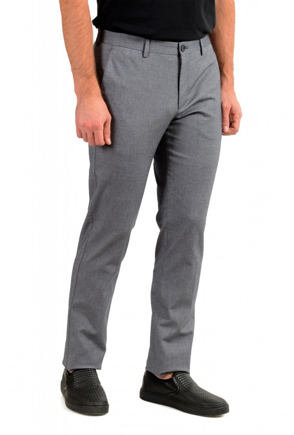 """Hugo Boss Men's """"Stanino17-W"""" Blue Flat Front Casual Pants: Picture 2"""