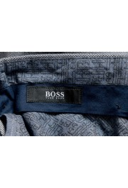"""Hugo Boss Men's """"Stanino17-W"""" Blue Flat Front Casual Pants: Picture 5"""