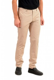 "Hugo Boss Men's ""Stanino17-W"" Beige Flat Front Casual Pants: Picture 2"