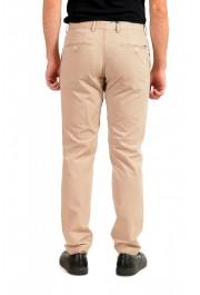 "Hugo Boss Men's ""Stanino17-W"" Beige Flat Front Casual Pants: Picture 3"