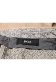 "Hugo Boss Men's ""Stanino17-W"" Beige Flat Front Casual Pants: Picture 5"