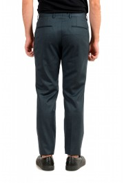 """Hugo Boss Men's """"Gido"""" Forest Green 100% Wool Flat Front Pants: Picture 3"""