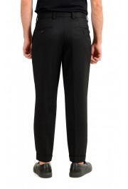 """Hugo Boss Men's """"Porte"""" Black Wool Pleated Front Casual Pants: Picture 3"""
