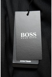 """Hugo Boss Men's """"Porte"""" Black Wool Pleated Front Casual Pants: Picture 4"""
