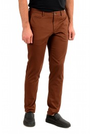 """Hugo Boss Men's """"Broad1-W"""" Brown Flat Front Casual Pants: Picture 2"""