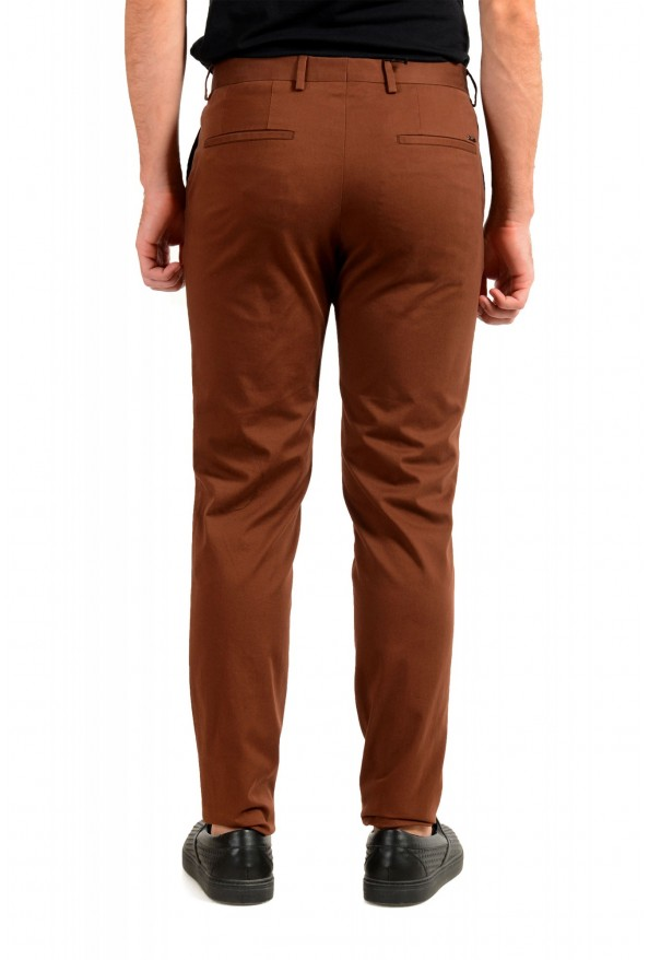 """Hugo Boss Men's """"Broad1-W"""" Brown Flat Front Casual Pants: Picture 3"""