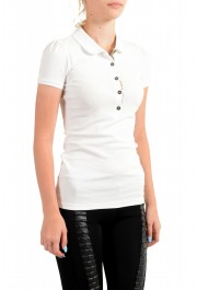Burberry Women's White Short Sleeves Polo Shirt: Picture 2