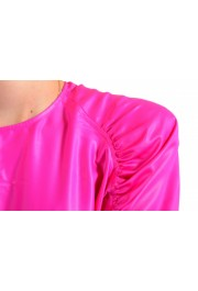 Versace Women's Fuchsia Pink Blouse Top: Picture 4