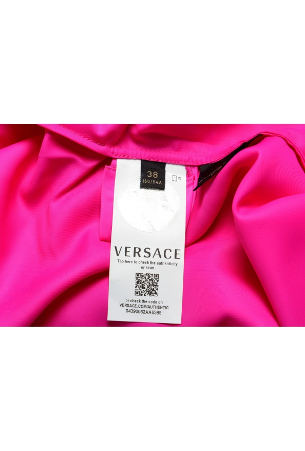 Versace Women's Fuchsia Pink Blouse Top: Picture 6
