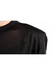 Versace Women's Black Silk Long Sleeve Sweater: Picture 4