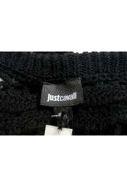 Just Cavalli Women's Wool Rabbit Hair Knitted Blouse Top: Picture 4