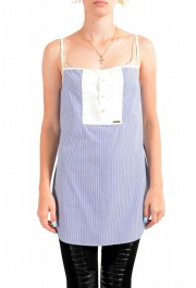Dsquared2 Women's Striped Tunic Blouse Top