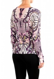 Just Cavalli Women's Multi-Color Floral Print Pullover Sweater: Picture 3