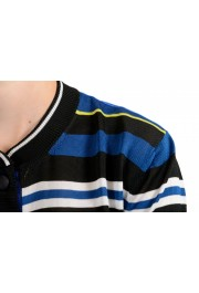 Just Cavalli Women's Multi-Color Striped Cropped Cardigan Sweater : Picture 4