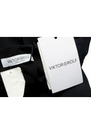 Viktor & Rolf Women's Black V-Neck Sleeveless Blouse Top : Picture 6