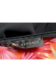 Versace Women's Black Deep V-Neck Mini Dress : Picture 5