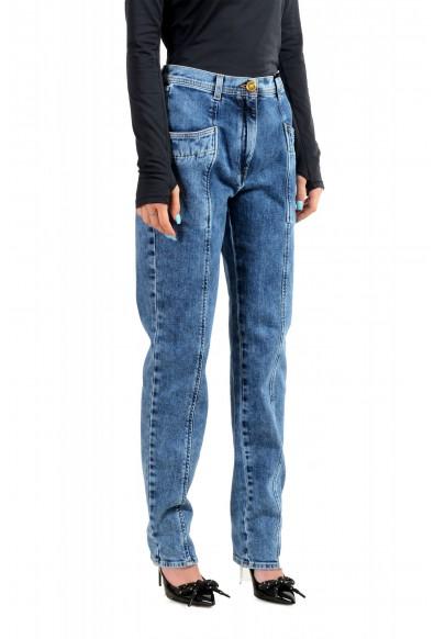 Versace Women's Medium Wash High Waisted Denim Pants : Picture 2