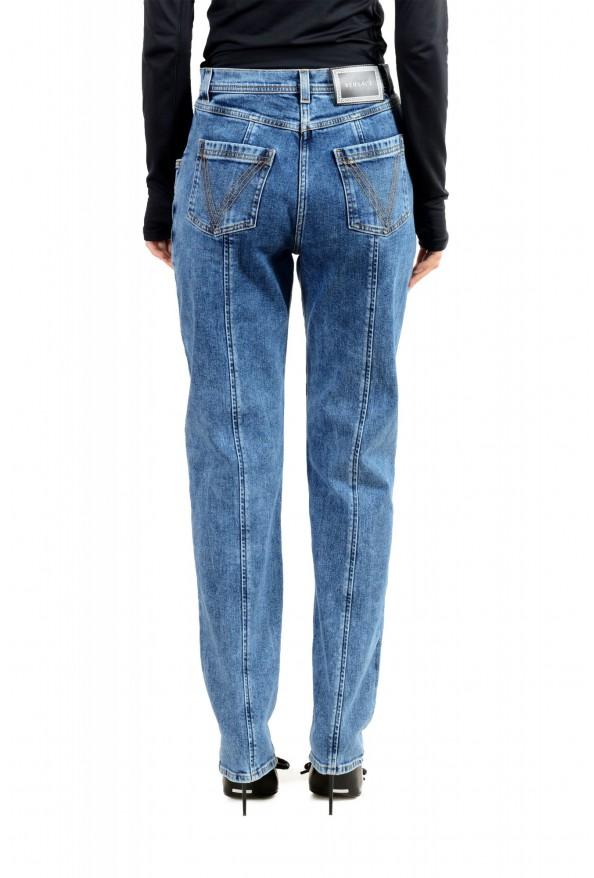 Versace Women's Medium Wash High Waisted Denim Pants : Picture 3