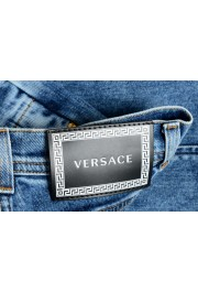 Versace Women's Medium Wash High Waisted Denim Pants : Picture 5
