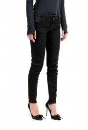 "Dsquared2 Women's ""Medium Waist Skinny Jean"" Black Jeans: Picture 2"