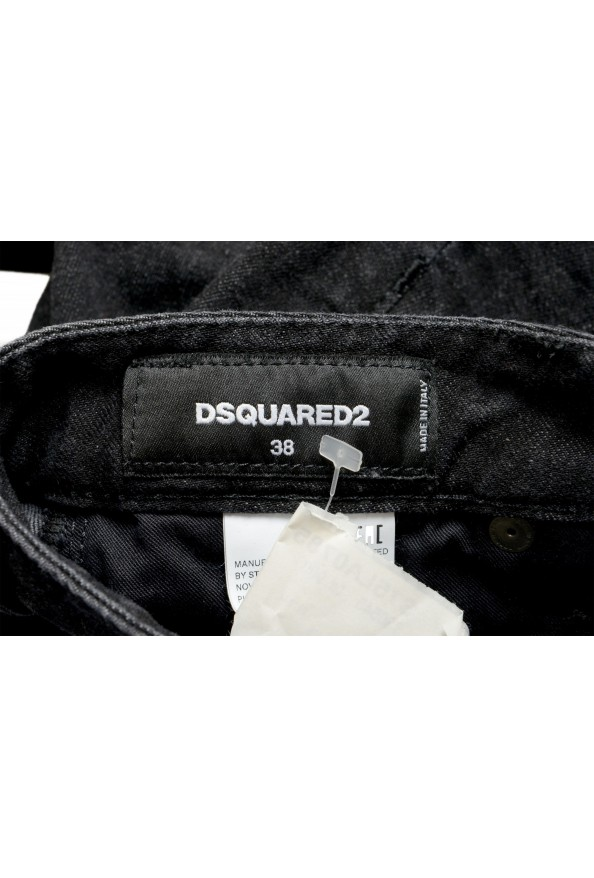"Dsquared2 Women's ""Medium Waist Skinny Jean"" Black Jeans: Picture 4"