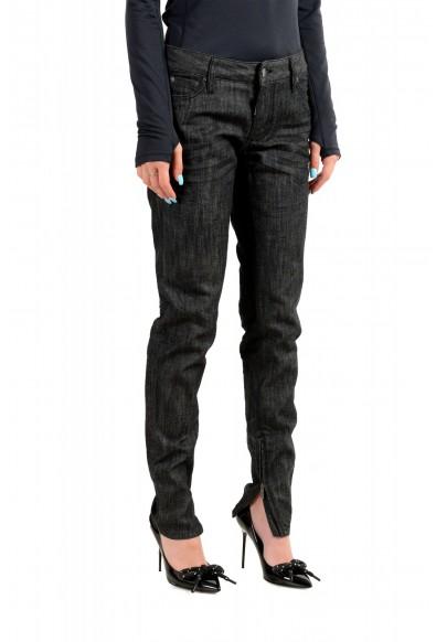 "Dsquared2 Women's ""Medium Waist Skinny Jean"" Black Wash Jeans: Picture 2"